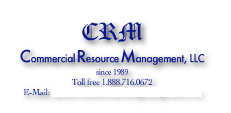 CRM Commercial Resource Management, LLC since 1989 Toll free 1.888.716.0672 E-Mail: daniel@commercialroofingmanagement.com